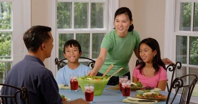 Families with more than one child tend to have better eating habits