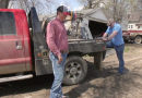 American Climate Video: Giant Chunks of Ice Washed Across His Family's Cattle Ranch