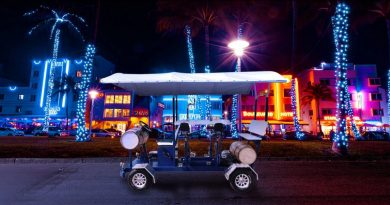 Awesomely Weird Alibaba Electric Vehicle of the Week: A 7-seater Electric Beer Bike